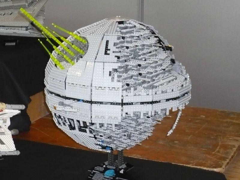 Maquette Star Wars Etoile Noire